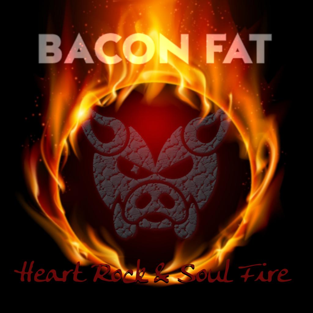 New Album Cover Heart Rock & Soul Fire